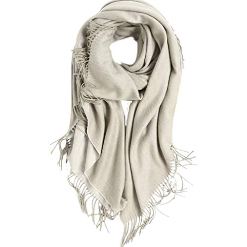 Scarves Shawl-Wool Velvet Blanket Sofa Shawl Autumn and Winter Office Living Room nap Lazy Cover Shoulder Blanket Increase Thickening Lazy nap Shawl Blanket Wraps (Color : Gray, Size : 150200cm) ()