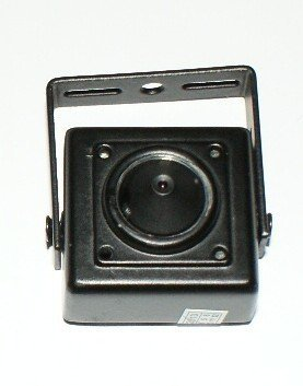 G9AA - 3.7mm LENS 1/4' COLOUR CCD FLAT PINHOLE PEEPHOLE CAMERA MINI CUBIC 420TVL