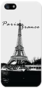 Cellet Proguard Case with Paris France for Apple iPhone 5 - White hjbrhga1544