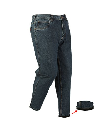 Fleece Relaxed Fit Jeans (Five Brother Relaxed Fit Fleece-Lined Denim Jean, 42W X 29L)