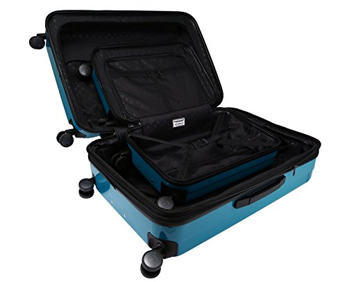 c14df6565 HAUPTSTADTKOFFER Kotti Luggages Sets Glossy Suitcase Sets Hardside Spinner  Trolley Expandable (20'&28'