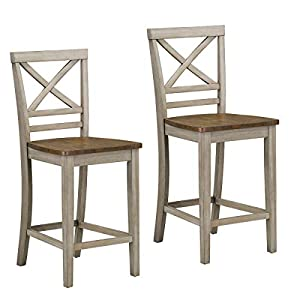 Standard Furniture Fairhaven Counter Height Grey Barstool Set