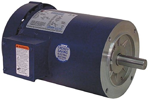 220//380//440V Voltage 2HP 1500 RPM Round Mounting Leeson 121277.00 Special Voltage Motor 50Hz Fequency C145T14FC5 C 3 Phase 145TC Frame