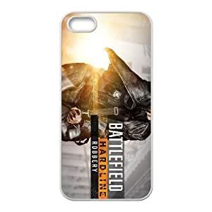 games battlefield hardline robbery wide iPhone 4 4s Cell Phone Case White Present pp001-9441364