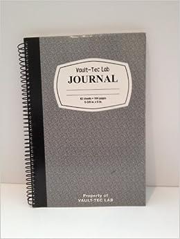 Vault-tec Lab Journal: Amazon.com: Books