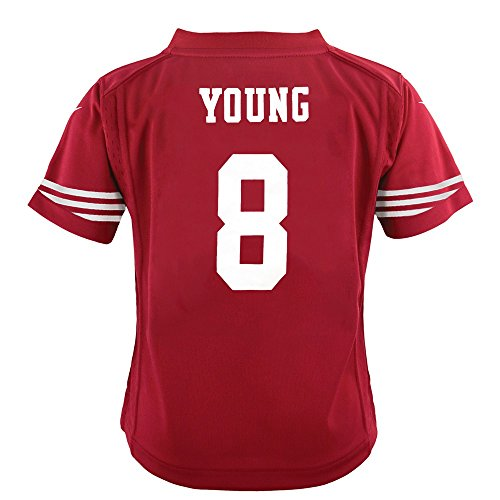 Nike Steve Young San Francisco 49ers Home Red Toddler Game Jersey (2T-4T)