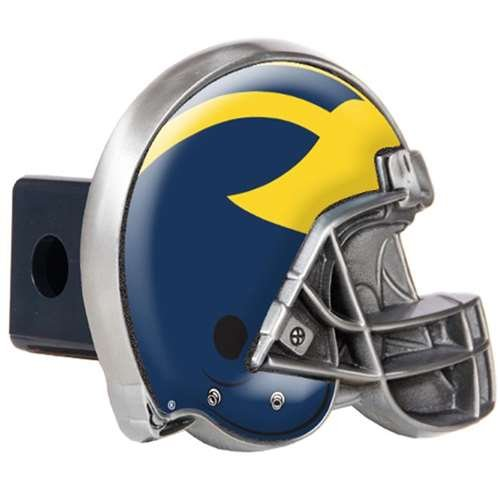 GAP Michigan Wolverines Trailer Hitch Receiver Cover - Helmet