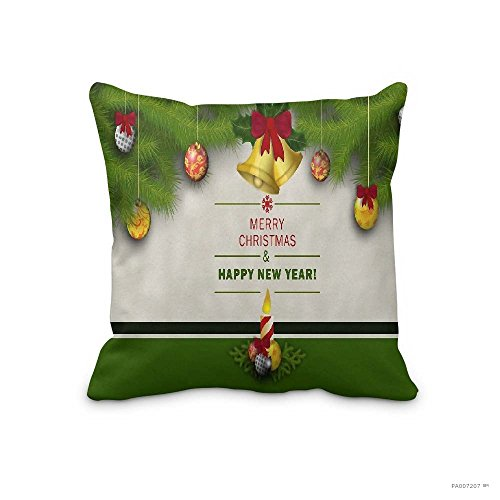 Festival Merry Christmas Gifts to Every Home Custom Unique Pillow Case Christmas No-3760 Pillowcase for Sofa Throw Pillow Cover - Falls Before Online Watch Night