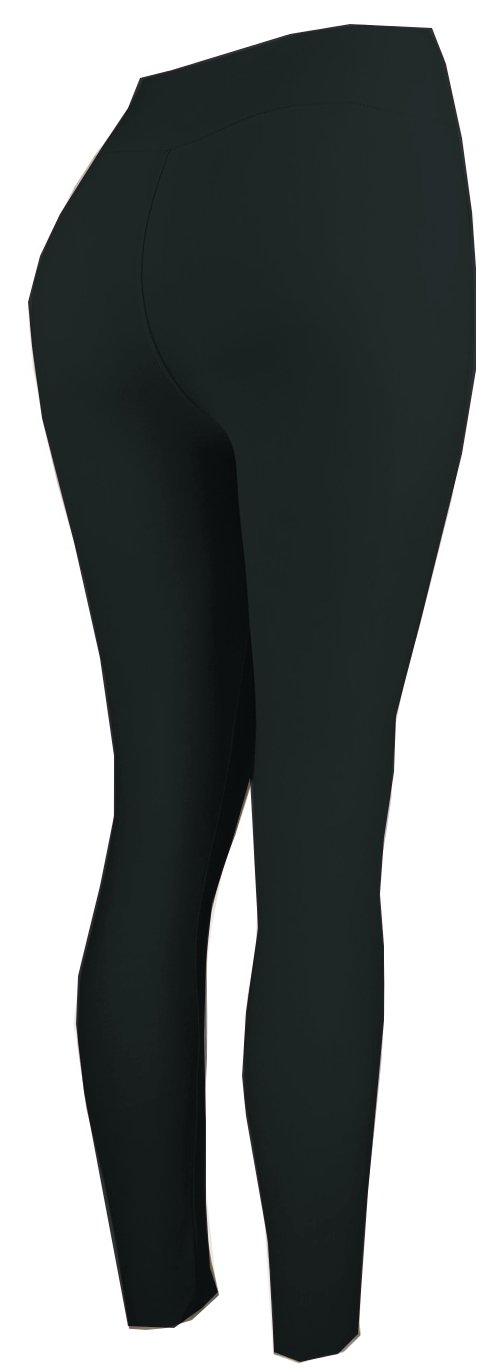 Lush Moda Extra Soft Leggings-Variety of Colors-Plus Size Yoga Waist-Black Yoga Waist,One Size fits Most (XL - 3XL) by LMB (Image #4)