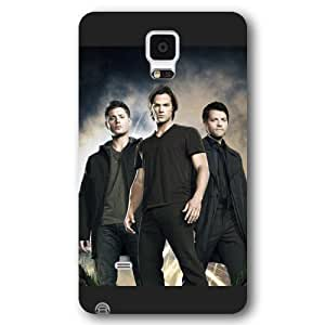 UniqueBox - Customized Black Frosted Samsung Galaxy Note 4 Case, Supernatural Samsung Note 4 case, Only fit Samsung Galaxy Note 4