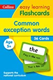 Common Exception Words Flashcards (Collins Easy Learning KS1)