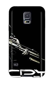 Tpu Case Cover For Galaxy S5 Strong Protect Case - Crysis Design