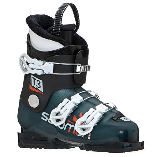 Salomon T3 RT Kids Ski Boots 2020-22.5/Maroccan Blue-Black-White