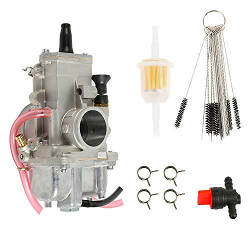 CQYD New TM34-2 Carburetor For Mikuni TM34 Flat Slide 34mm Spigot TM34-2 34 mm 42-6100 TM-34
