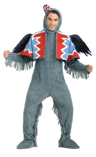 Rubie's Wizard Of Oz 75th Anniversary Edition Deluxe Winged Monkey, Gray, Standard Costume (Of Wizard Oz Cover Shoe)