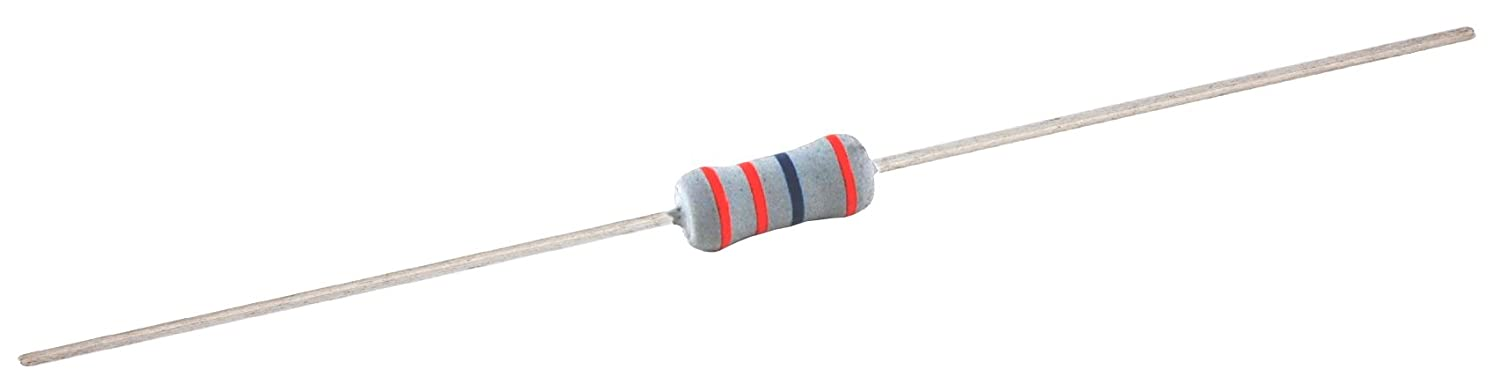 Axial Lead Inc. 7.5 Kilo Ohm Resistance 2/% Tolerance 500V Pack of 4 1W NTE Electronics 1W275 Metal Composition Resistor
