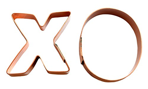- Hugs and Kisses XO Cookie Cutter Pair