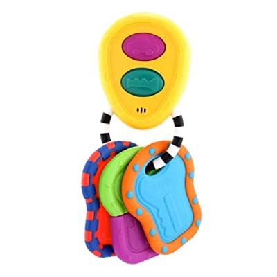 Sassy Tactile Tunes Keys Teether Toy by Sassy