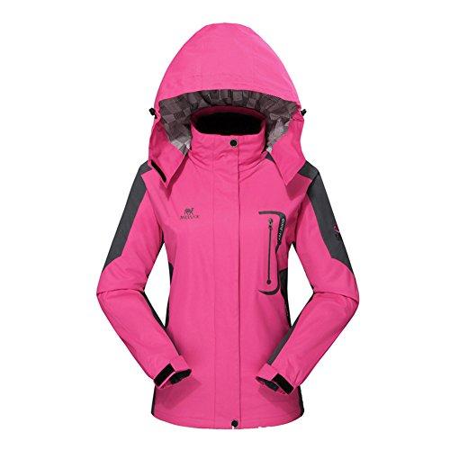 Diamond Candy Hooded Softshell Waterproof Jacket Outdoor Women's raincoat HPL