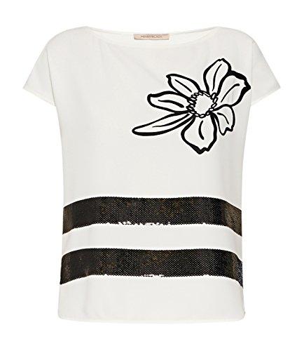 Pennyblack Fair, Camiseta de Tirantes Interiores para Mujer Marfil (bianco avorio)