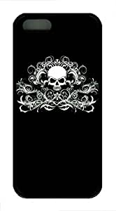 Cool Skull 18 - iPhone 5S Case Funny Lovely Best Cool Customize Black Cover