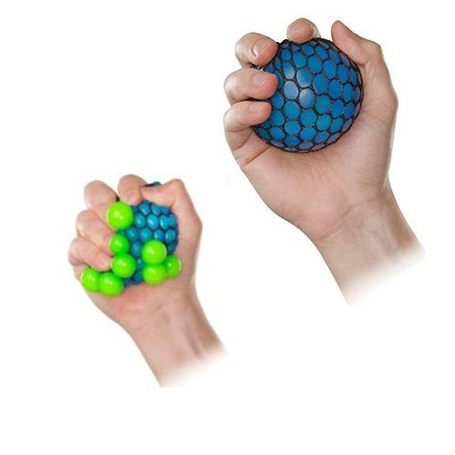 Squishy Ball In Mesh : Mesh Squishy Ball - Pack of 12 - Assorted Colors New eBay
