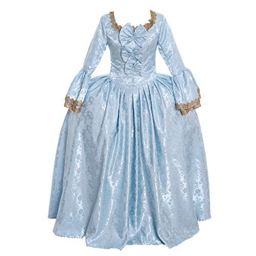 CosplayDiy Women's 18th Century Marie Antoinette Rococo Damask Cosplay Costume Dress cm ()