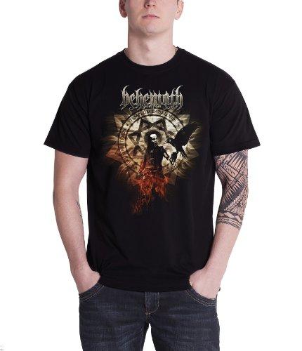 Plastichead Behemoth Firecrow official men's black small t-shirt