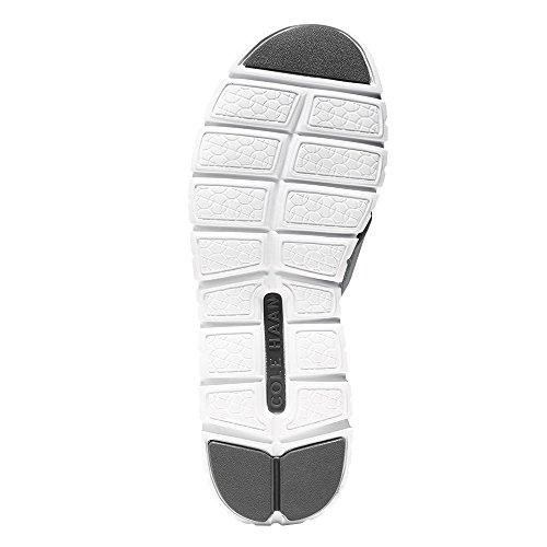 Cole Haan Womens Zerogrand Crisscross Sandal Ii Argento Metallic / Optic White