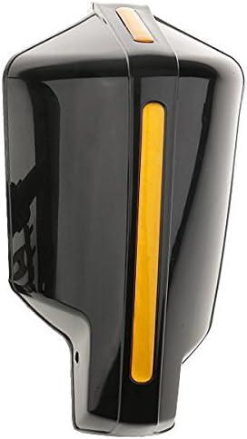 Iycorish 1 Paire Garde-Mains universels de Scooter de Moto Garde-Main pour 7//8 Barre Noir