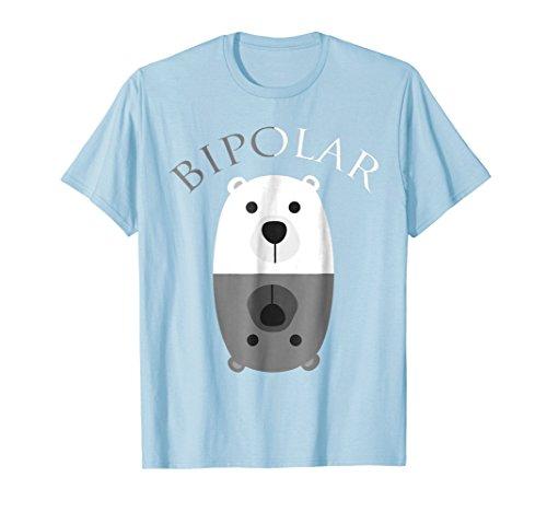 Bipolar Bear (Bipolar Shirt | Cute Mental Disorder Polar Bear Tee Gift)