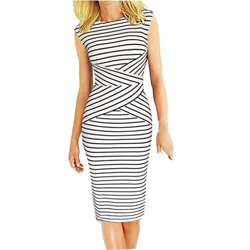 Women's Sleeveless Slim Pencil Dress - Aoli Cotton