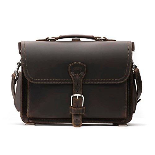 Saddleback Leather Co. Slim Full Grain Leather 15-inch Laptop Computer Bag Includes 100 Year Warranty by Saddleback Leather Co. (Image #2)