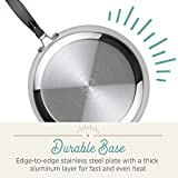 Farberware Classic Stainless Steel Saute Fry Pan