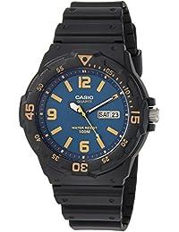 Casio Men's 'Classic' Quartz Resin Casual Watch, Color:Black (Model: MRW-200H-2B3VCF)