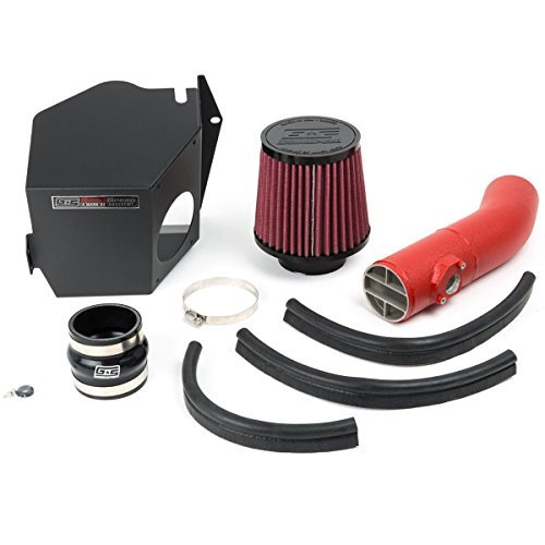 GrimmSpeed 060053 Cold Air Intake System w/ Red Piping for 2008-2014 Subaru WRX/STI