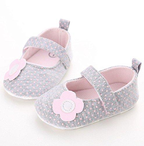 Meses Pequeños Lona Suela De 18 Para Blanda Zapatilla 0 Bebé Niños Niña Antideslizante Zapatos 6XHCT