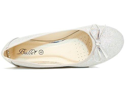 London Argent Silver Ballet Dazzle Envy Femme dztwxfdg