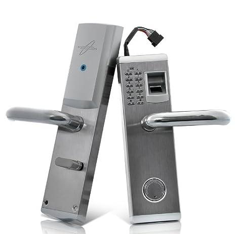 Cerradura biometrica huella dactilar Premium