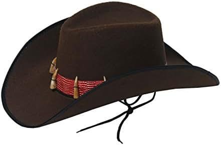 MA ONLINE Mens Wild West Cowboy Hat Womens Hen Night Props Party Fancy Dress Accessory One Size