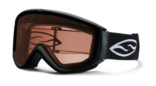 Smith Cascade Airflow Goggle (RC36, Black), Outdoor Stuffs