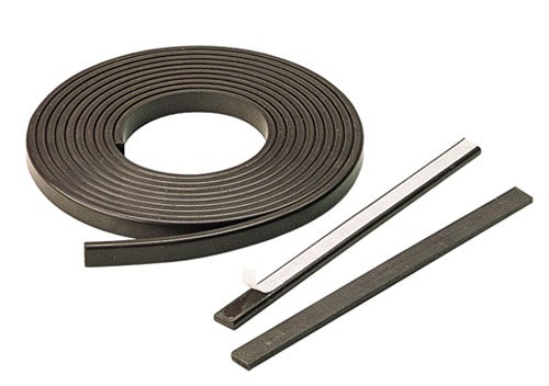Eclipse Magnetics FM672 Plain Flexible Magnet, 393.6'' Length x 0.59'' Width x 0.25'' Height