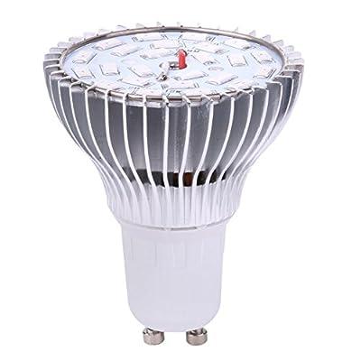WinnerEco Led Grow Light Bulb Full Spectrum GU10 24 AC85-265V Led Growing Lamp Plant Light