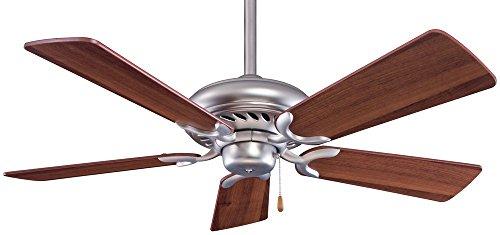 "Minka Aire F563-BS/DW Supra - 44"" Ceiling Fan, Brushed St..."
