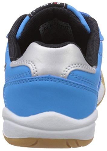 Killtec Genua Jr - Zapatillas de gimnasia Unisex Niños Azul (Neon Blue)