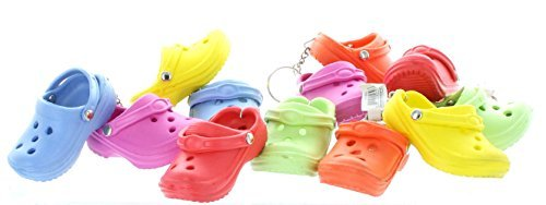 Price comparison product image Rubber Clog Keychains