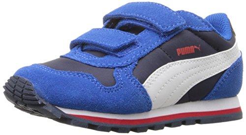 PUMA ST Runner Nl V Inf Sneaker (Toddler), Peacoat/Puma White, 7 M US Toddler
