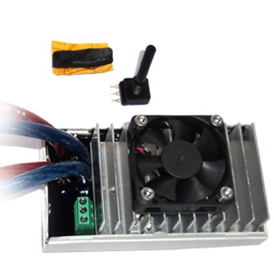 80A 12V PWM Adjustable Pulse Width Modulator w/ EXTENDABLE POTENTIOMETER to HHO water4gas Cell 100Hz