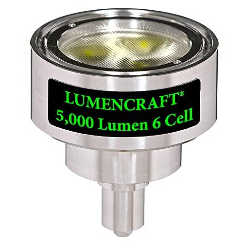 Lumencraft Conversion For Maglite Flashlight 6d 5000 Lumen