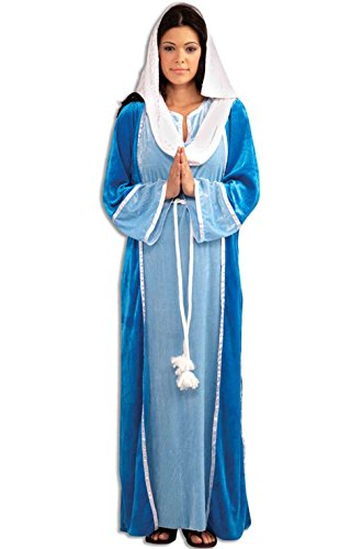 [Mememall Fashion Deluxe Mary Jesus Biblical Adult Costume] (Deluxe Plush Cow Mascot Costumes)